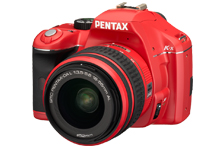 Pentax K-x Red