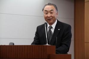 Canon's Senior Advisory Director Takashi Kuniyoshi
