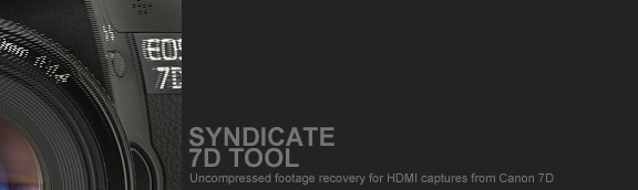 Syndicate 7D Tool Software.