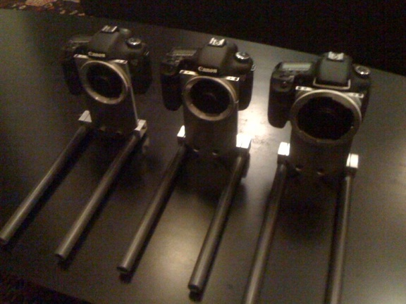 Syndicate's Generation III 7D PL & BNCR Mount Cameras