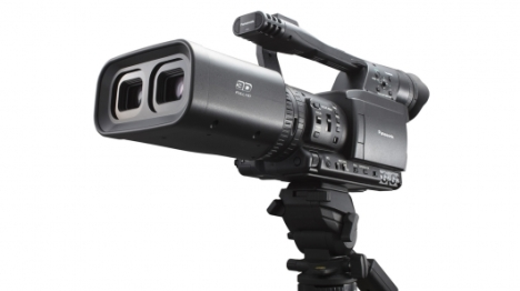 Panasonic 3D HD Camera.