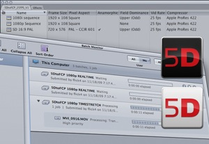 Apple's 5D to FCP Workflow Package.