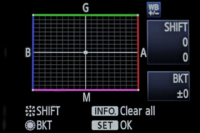 how to get correct white balance in camera