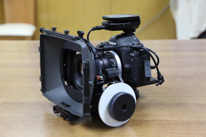 Canon 5D Mark II PL Mount With Zeiss Super Speed.