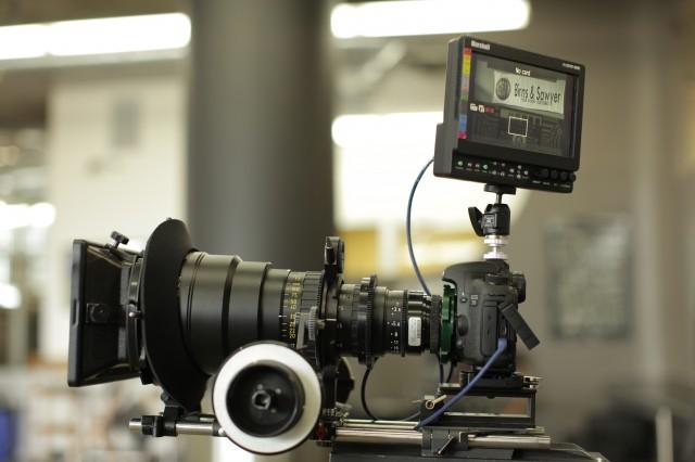 Hot Rod Cameras PL Mount 7D at Birns & Sawyer, Hollywood.