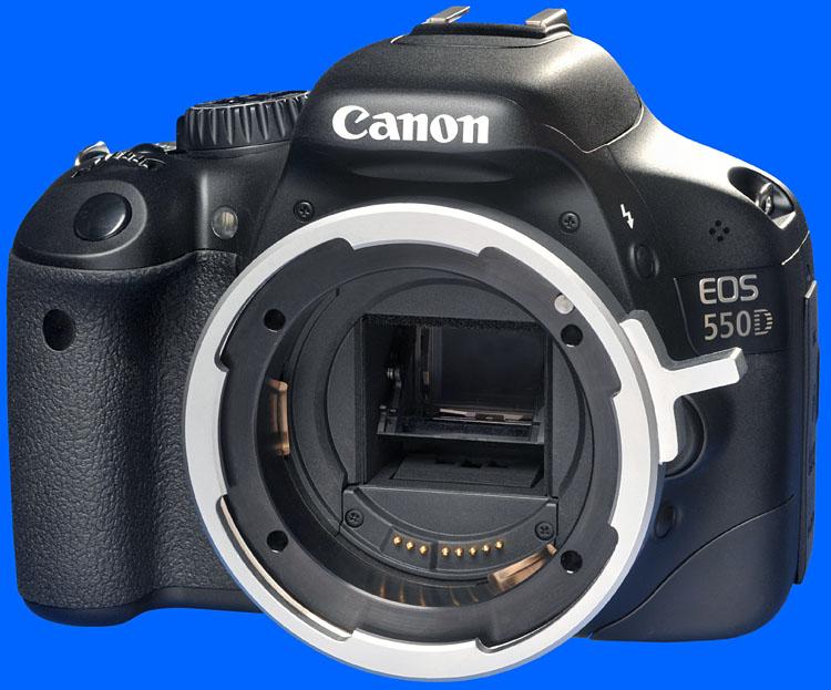Canon Rebel 550D PL Mount.