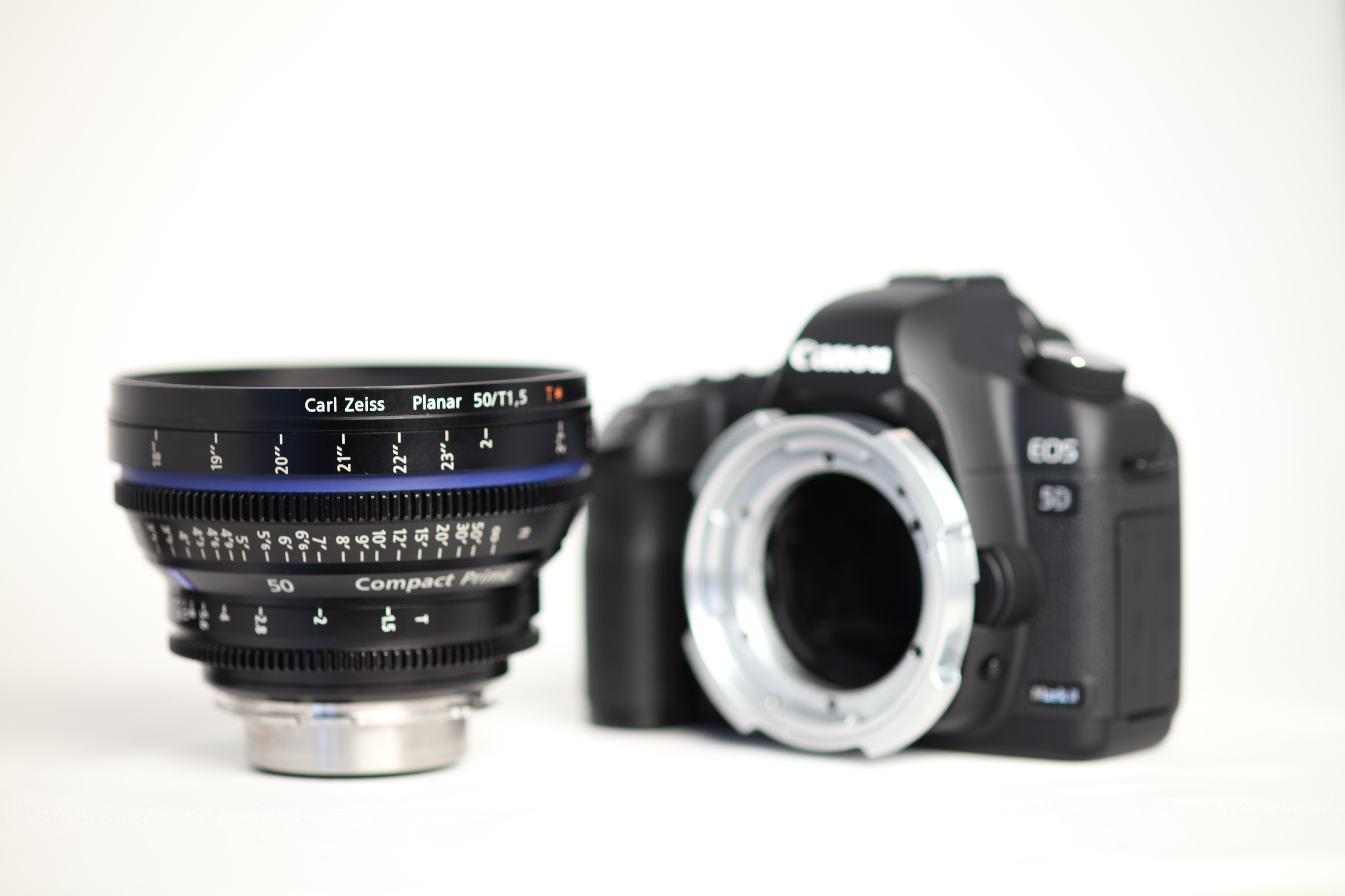 Hot Rod Cameras 5D PL Mount With 50mm Zeiss Compact Prime