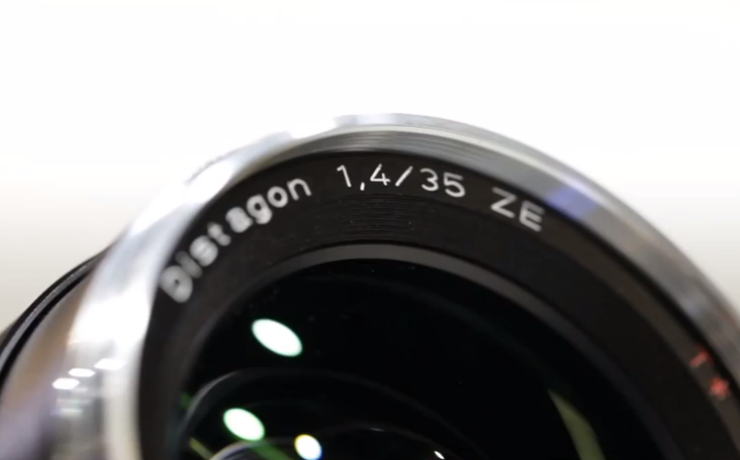 Carl Zeiss Lenses New 35mm f1.4 Lens Video. Photokina 2010.