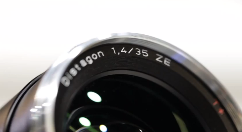 Carl Zeiss Lenses New 35mm f1.4 Lens Video. Photokina 2010.