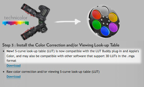 New: CineStyle LUT now compatible with Apple Color | cinema5D