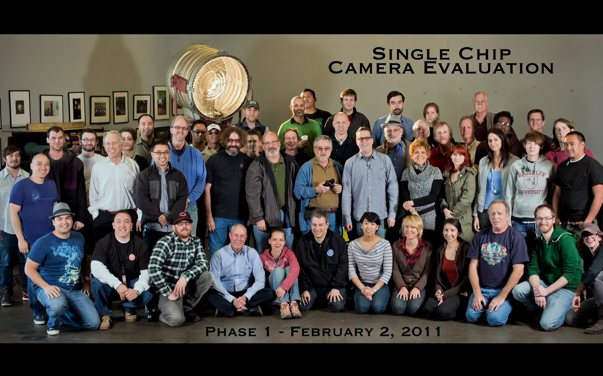Zacuto Single Chip Camera Evaluation - scce