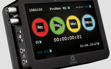 IBC 2011: ATOMOS Samurai - 1145€ HD-SDI recorder + DNxHD