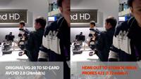vg20 atomos still3 thumb IBC 2011: Testing the SONY VG 20   recorded via hdmi out