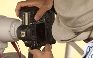 Canon 5D mark III spotted in the wild?