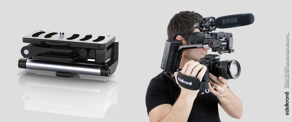 edelkrone12 NAB 2012   Edelkrone: intriguing HDSLR rigs at the right price