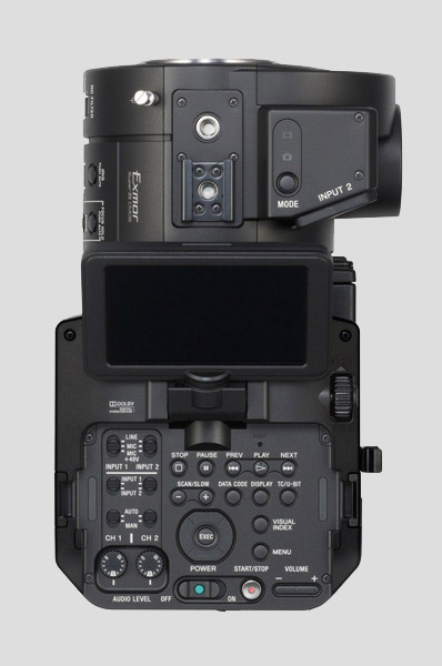 First pictures of Sony's cinematic answer – NEX-FS700 leaked ...