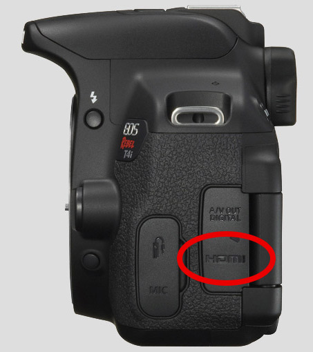 Clean Hdmi Out On Canon T4i 650d Update Problems