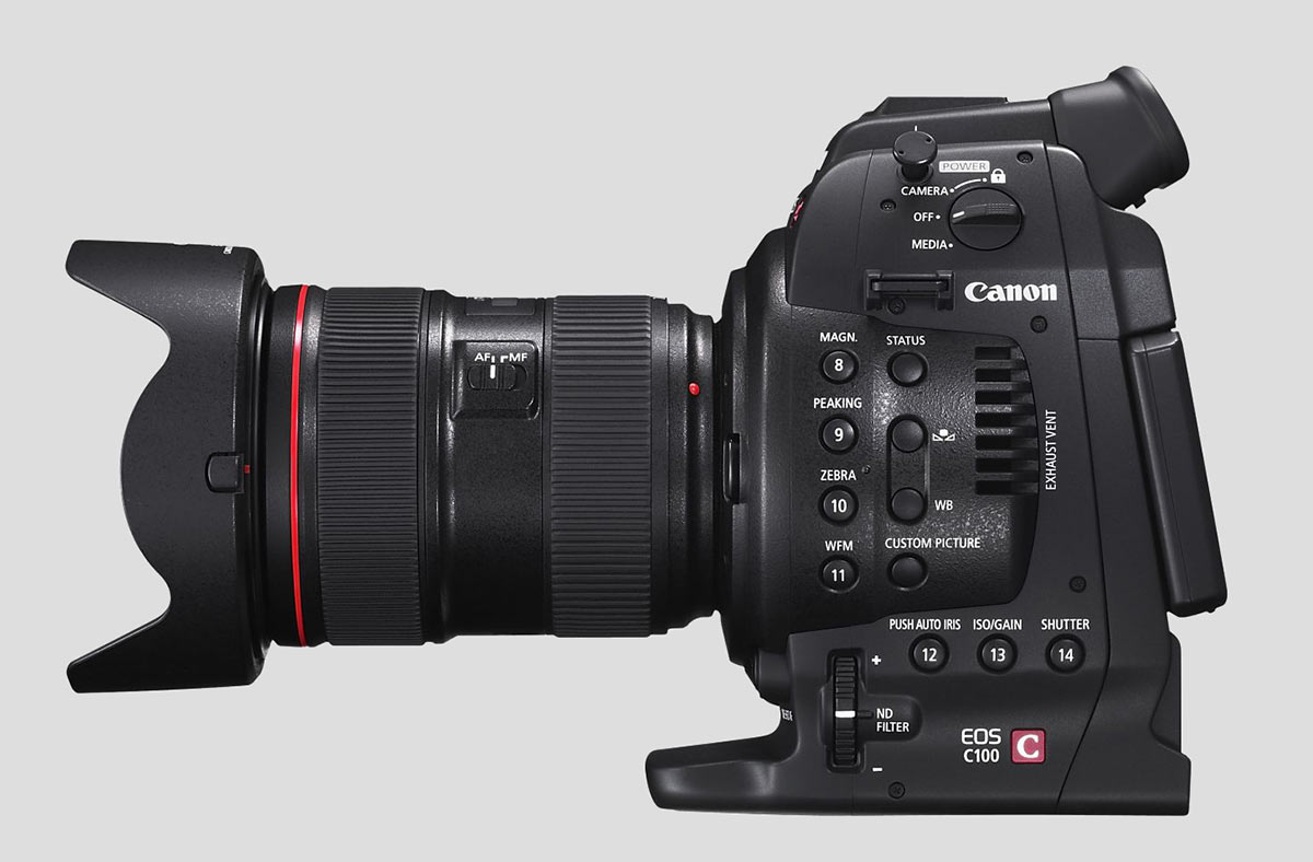 c100 Canon C100   Canons cinema cam for indie shooters [UPDATE]