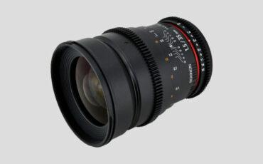 Samyang/Rokinon Cine lenses coming [ready for pre-order]
