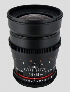 35mm rokinon 244x320 The winner of our IBC 2012 Twitter contest