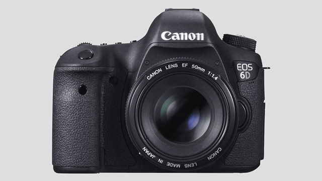New & capable full frame HDSLR by Canon: The EOS 6D