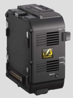 SonyAXS R RAWrecorder 449x600 239x320 Sony dropped the F bomb: announces F5, F55 4K cameras