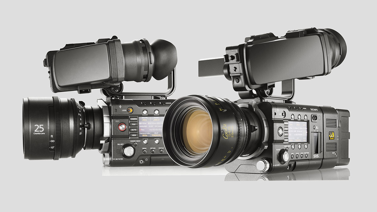 SonyPro F5 F55 group Sony dropped the F bomb: announces F5, F55 4K cameras