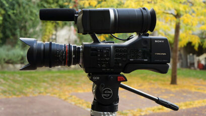 Sony NEX-EA50 hands-on footage and review
