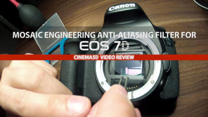 Canon 7D Anti-Aliasing Filter Review - Clean!