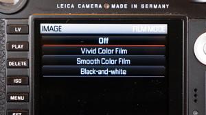 Leica M 240 picture profiles