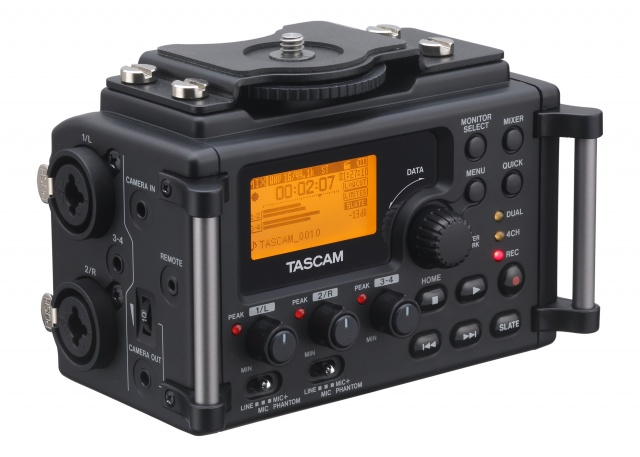 dr 60d p user Tascam DR 60D   dedicated, lightweight DSLR audio recorder