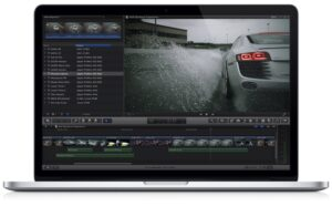 final cut pro x macbook pro 300x187 Apple updates Final Cut Pro X & tries to win back the pros