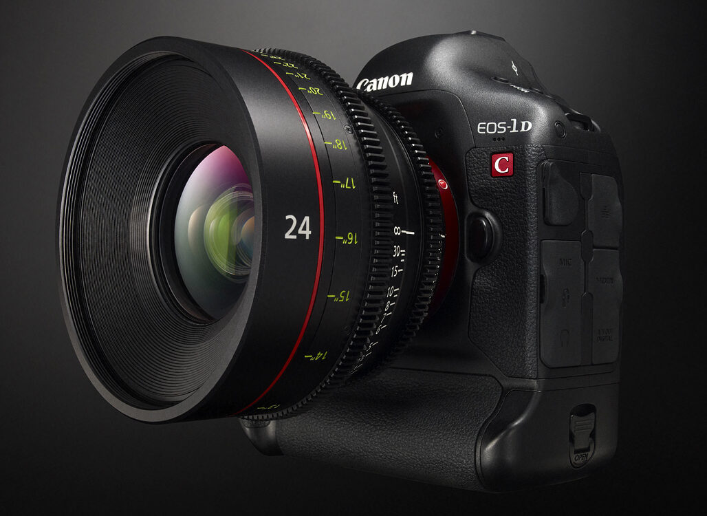 Canon 1DC gets long-awaited 25p 4K update, through service facilities only