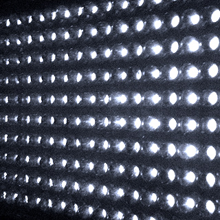 led ugly Fill Lite   LED without the dots, finally!