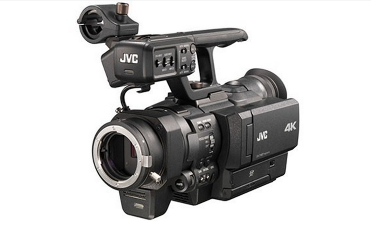 The 4K revolution continues: JVC GY-HMQ30 with Nikon F mount