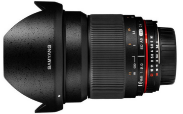 Samyang announce two new prime lenses: 16mm f/2.0 and 300mm f/6.3