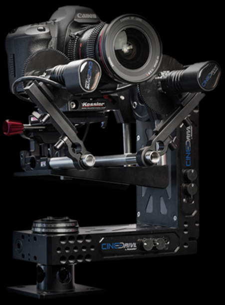 CineDrive 3 axis setup