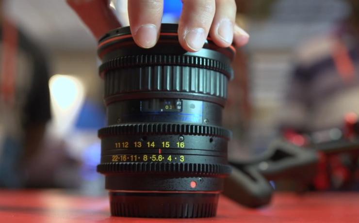 Tokina 11-16mn T.3 Cine Lens