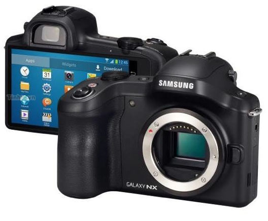 Samsung introduces Android-powered interchangeable lens camera Galaxy NX