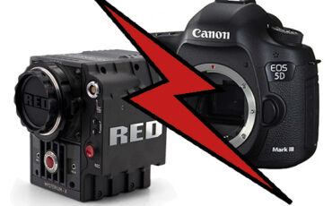 Red Scarlet vs. Canon 5D mark III RAW