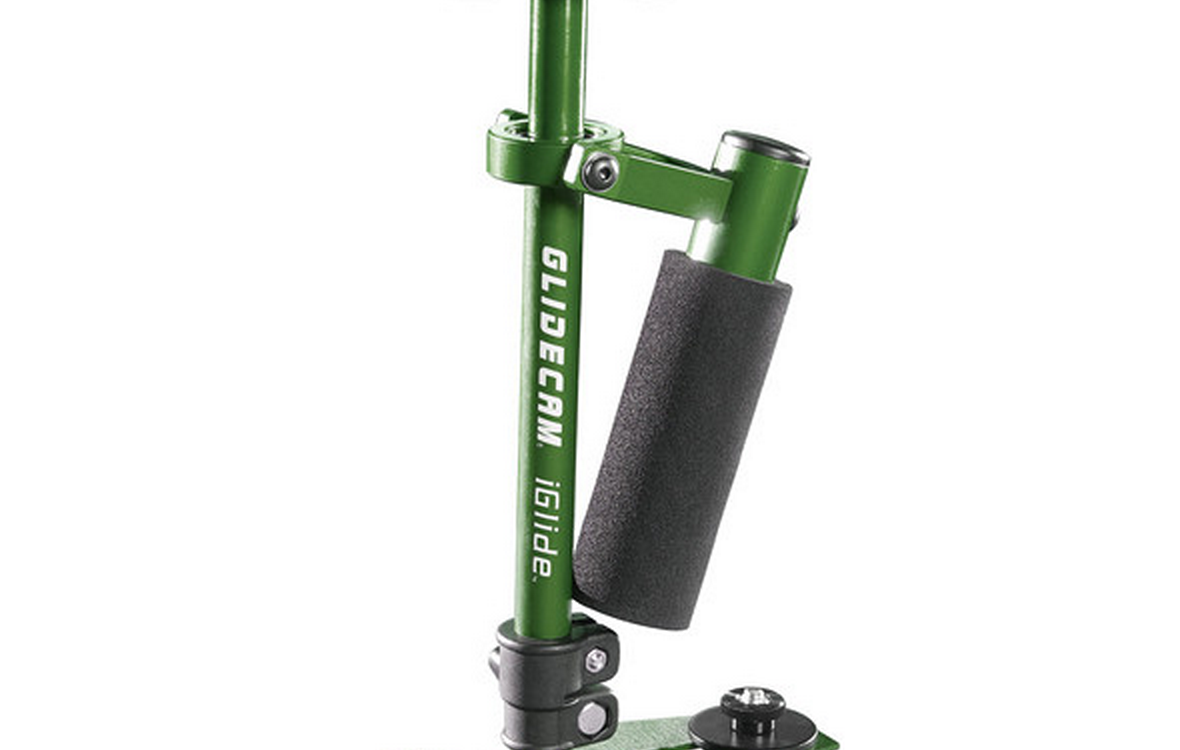 Glidecam iGlide - ultra compact handheld stabiliser for ultra compact cameras