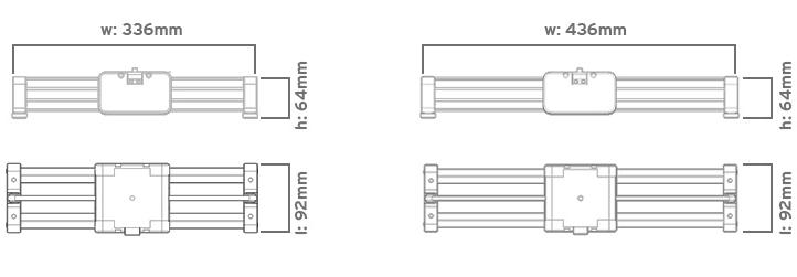 SlidePLUS v2 size specs