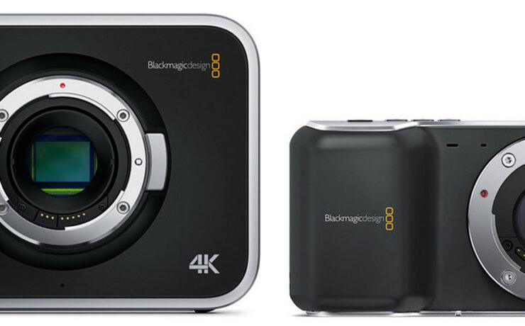 Blackmagic Cinema Cameras release update
