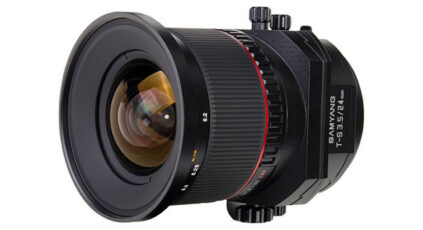 Samyang 24mm f/3.5 T-S - a budget friendly tilt shift lens