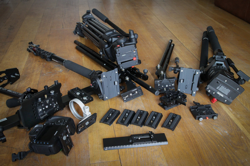 Manfrotto 501PL setup