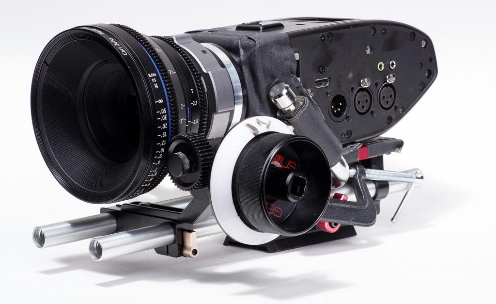 Digital Bolex with prototype PL mount