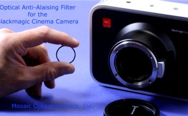 Anti-Aliasing Filter for Blackmagic Cinema Camera