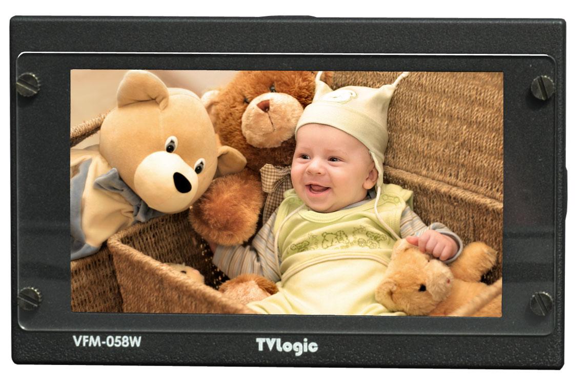 "IBC 2013 - TVlogic VFM-058W 5.5"" Full HD monitor"