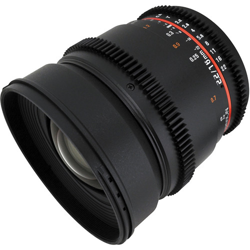 The Samyang 16mm T2.2 is here