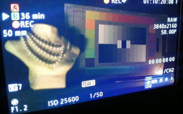 IBC 2013 - Video: Canon C series high ISO firmware update